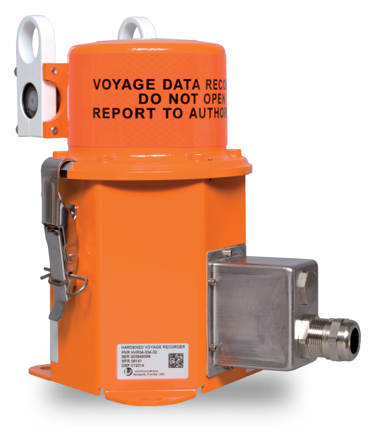 JRC VOYAGE DATA RECORDER MODEL JCY-1950